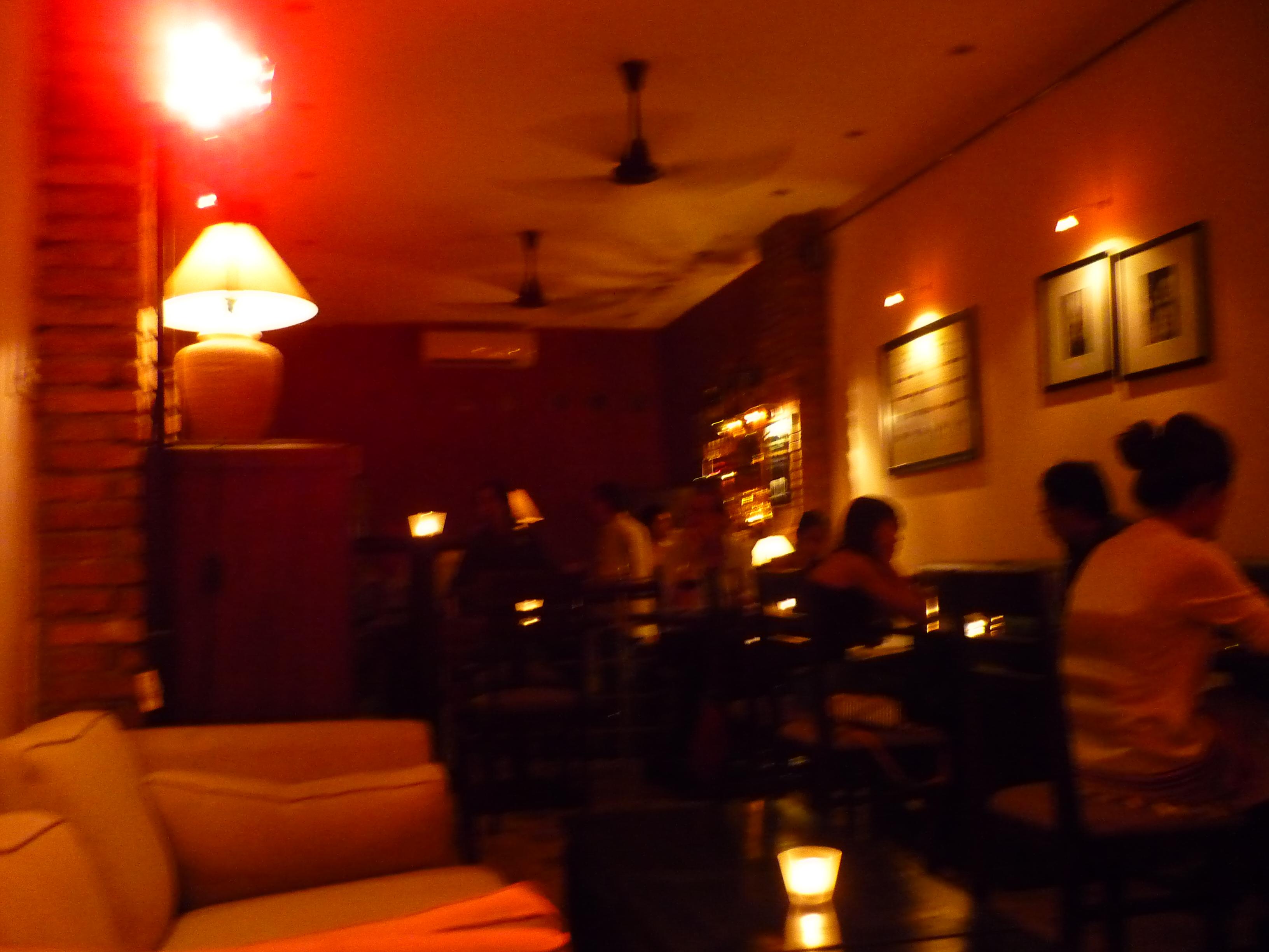 The Elbow Room Saigon Menu